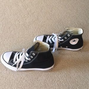 Boys high top converse shoes